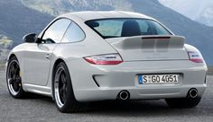 Porsche 911 (997.2) Sport Classic with new Fuchs, duck spoiler, twin side exhausts, roof bubbles, houndstooth trim and revised bumpers.