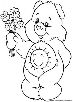 Care Bears Coloring-046