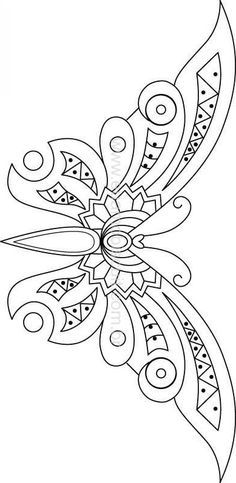 Awesome Most Popular Embroidery Patterns Ideas. Most Popular Embroidery Patterns Ideas. Beaded Embroidery, Embroidery Stitches, Embroidery Patterns, Hand Embroidery, Butterfly Embroidery, Knitting Patterns, Stained Glass Patterns, Mosaic Patterns, Metal Embossing