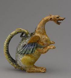 """Musée du Louvre's Verified account:  @MuseeLouvre:  Apr 27, 2018:  """"Les collections du département des #Objetsdart sont pleines de surprises !  Nous continuons avec cette aiguière très colorée en forme de dragon, datant de la fin du XVIe siècle. #BattleMonstres #MuseumWeek #kidsMW"""" https://twitter.com/MuseeLouvre/status/989880955627241472"""