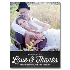 RUSTIC CHALKBOARD | WEDDING THANK YOU POSTCARD - RUSTIC CHALKBOARD | WEDDING THANK YOU POSTCARD Customizable thank you postcard featuring retro typography and chalkboard background. Similar items are available in my store. #thank #you #wedding #thank #you #photo #wedding #vintage #rustic #typography #country #shabby #chic #chalkboard #portrait #retro #western #barn #southern #mr. #and #mrs. #whimsical #stylish #pretty #classic #postcard...