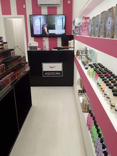 #lucypink#thessaloniki#kalamaria#cosmetics#store#beautyshop Thessaloniki, Beauty Shop, Cosmetics, Store, Pink, Larger, Pink Hair, Shop, Roses