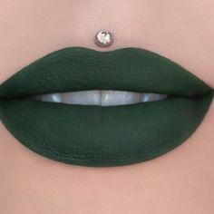 The color of dark ivy. Be bold and unique with this gorgeous green! This item is limited edition. Our liquid lipstick goes on opaque, dries completely matte and