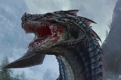 O'burien the dragon , Yuka Han on ArtStation at https://www.artstation.com/artwork/lGL8O