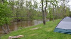 Camping and Canoeing @ Rifle River Campground, MI