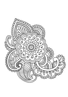 STCI, coloriage pour adultes et enfants mandalas