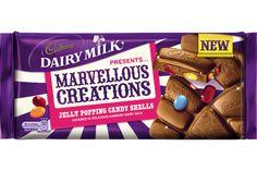 Cadbury Jelly Popping Candy Shells