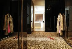 I will know I've made it the day I put leopard print carpet in my walk in closet #dreambig #homedecor