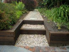podkłady kolejowe w ogrodzie - Szukaj w Google