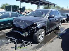 Salvage 2009 AUDI Q7 for Sale   THIS IS A SALVAGE REPAIRABLE VEHICLE WITH FRONT END DAMAGE . ALL AIRBAGS ARE INTACT. For more information and immediate assistance, please call +1-718-991-8888
