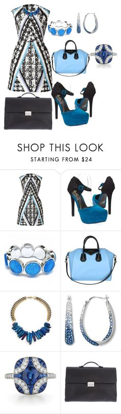 """""""Wrk Week Tuesday"""" by carolinalaguera ❤ liked on Polyvore featuring Peter Pilotto, Qupid, Fantasy Jewelry Box, Janna Conner and Gucci"""