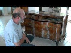 Lucidatura mobili ~ Balsamo amati lucidatura e restauro mobili parte diy