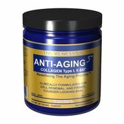 Anti-Aging 3 Collagen, Tropical Flavor, 300 g, Dr. Venessa's Formulas