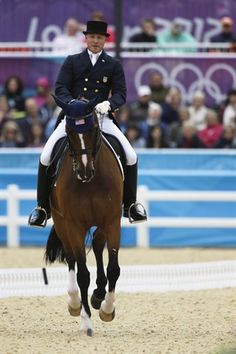REPIN it if you love it! Team USA's Jan Ebeling and Rafalca during today's dressage team competition. (Photo credits: Markus Schreiber/Associated Press & NBC Olympics)