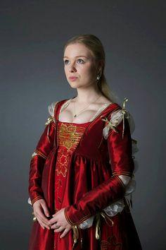 Robe Renaissance Lucrezia Borgia par SarahAnnLamb sur Etsy