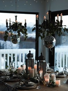 www.byrust.no/blogg  // New Year's Eve table Table Setting Inspiration, Scandinavian Style, New Years Eve, Elk, Rust, Wonderland, Table Settings, Kitchen Appliances, Table Decorations