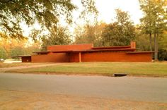 Stanley and Mildred Rosenbaum House. 1939,1948. Frank Lloyd Wright Usonian Style. Florence, Alabama