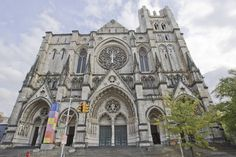 Cathedral of St. John the Divine, in New York City // Famous Buildings and Structures That Leave Us Breathless