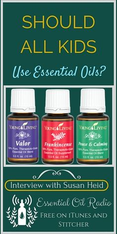 Susan Heid of TheConfidentMom.com shares her experience and expertise about using essential oils for kids. Learn the top 5 oils she keeps around at all times, tips for overactive kids, and how essential oils help with the oh-so challenging area of parenthood.