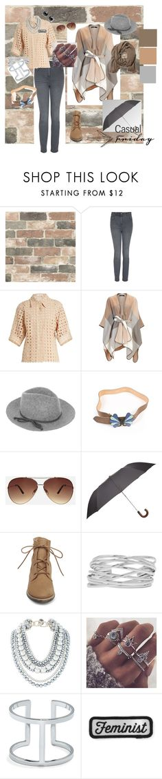 """casual friday"" by salicorn on Polyvore featuring mode, Wall Pops!, Laura Ashley, Chloé, Accessorize, Paul & Joe, Ashley Stewart, Harrods, Steve Madden et M&Co"