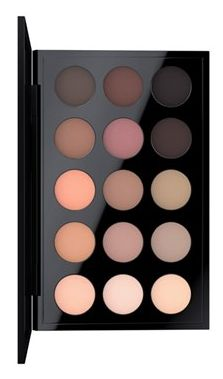 This is the best MAC eye shadow palette ever!! This well-edited palette by M·A·C is an exclusive combination of beloved and new matte shades featuring soft, sheer neutrals mixed with deep, rich browns.