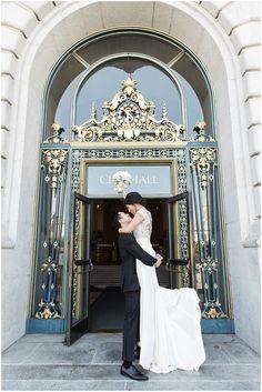 San Francisco City Hall Elopement | Tina & Paul – Amanda Wei Photo