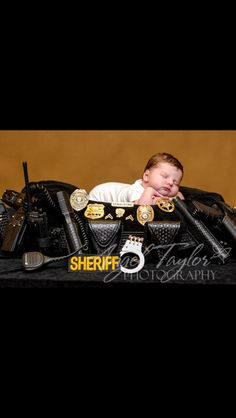 Cute sheriff baby pic... So doing this!!