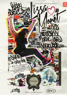 -THE LISSA MONET OLD SCHOOL MUSIC SHOW- [all you can drink] -  DJ Lissa Monet Official Blog
