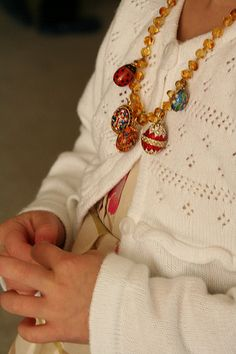 Pascha Egg Necklace by CharmingtheBirds, via Flickr