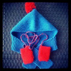 Petit bonnet et mitaines enfant et laine rapido de phildar Modèle tiré du  numéro 29 phildar créations tricotez calin 0ec011eb15f