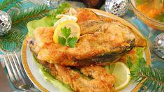 Kapor v pivnom cestíčku Carp Recipes, Fried Fish Recipes, Steaks, Coconut Fish, Shellfish Recipes, Baked Fish, Salmon Burgers, Fries, Cooking Recipes