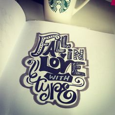 Lettering Daily - fall in love with type