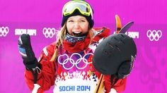 Canadian freestyle skier Dara Howell wins GOLD... Sochi Winter Olympics