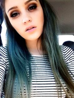 #bluehair #irra3D #turquoise #turquoisehair #green #hair