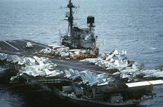 USS Midway CV-41 in 1984. smile emoticon  Look at all the different planes on deck. Today we see only F/A-18 in the fighter/fighter bomber and electronic warfare role.