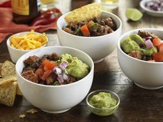 Hearty Steak and Bean Chili.