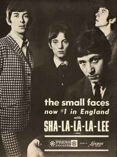 The Small Faces. The group was founded in 1965 by members Steve Marriott, Ronnie Lane, Kenney Jones, and Jimmy Winston, although by 1966 Winston was replaced by Ian McLagan as the band's keyboardist. Youth Culture, Pop Culture, Rock N Roll, Mod Music, Music Radio, Hard Rock, Steve Marriott, Folk, British Rock
