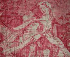 Antique toile 1860