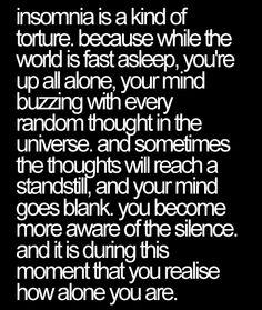Alone.