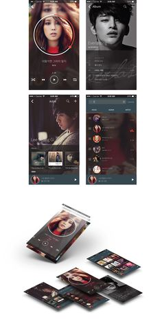 Mobile Music UI on Behance