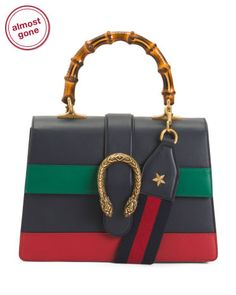 Gucci Made In Italy Dionysus Leather Top Handle Bag Leather Backpack, Leather Bag, Gucci Brand, Wallets For Women Leather, Beautiful Handbags, Cute Purses, Long Wallet, Tj Maxx, Clutch Wallet