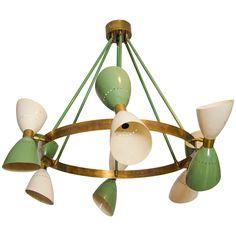 Very retro chandelier