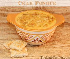 Crab Fondue Pappadeaux copycat recipe