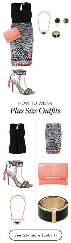 """plus size sexy diva night"" by kristie-payne on Polyvore"