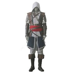 High quality assassin creed Edward iv 4 black flag Kenway Cosplay