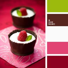 For inspiration, art and design. Color match was made by nature. All color scheme are made by those, who love colors. You can use those pallets in wedding inspiration, wedding decor and in any design  (Chocolate Cream Design)
