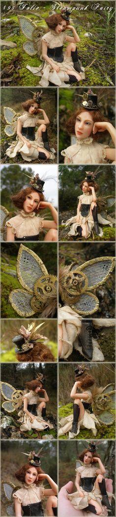 Steam punk fairy by inspiring Nenufar-blanco