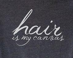 Popular items for hair stylist shirt on Etsy