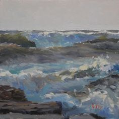 Artists Of Texas Contemporary Paintings and Art - Point Break
