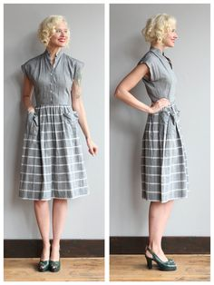 1950s Dress // Ticket to Ride Dress // vintage от dethrosevintage